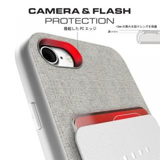 【iPhone8/7ケース】カードクリップ付タフケース エグゼク2 レッド iPhone 8/7_5