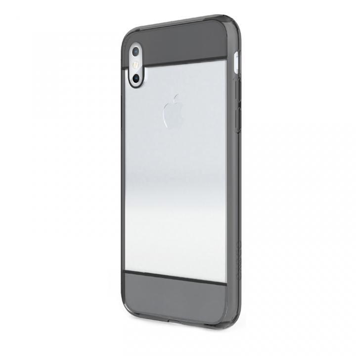 iPhone X ケース iPhoneのデザインはそのままに クリアエッジ クリスタルブラック iPhone X_0