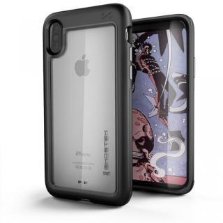 アルミ合金製スリムケース アトミックスリム ブラック iPhone X