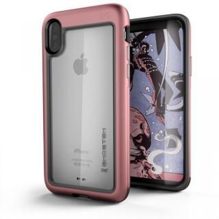 アルミ合金製スリムケース アトミックスリム ピンク iPhone X【10月上旬】