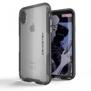 スタイリッシュなハイブリッドケース クローク3 ブラック iPhone X