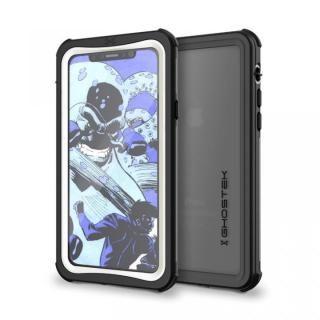 【iPhone X ケース】IP68防水防塵タフネスケース ノーティカル ホワイト iPhone X