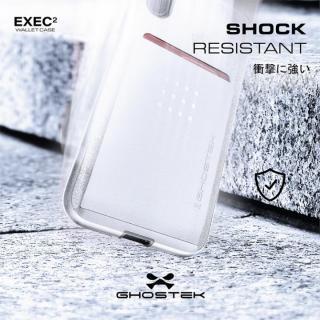 【iPhone Xケース】カードクリップ付タフケース エグゼク2 シルバー iPhone X_7