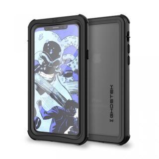 IP68防水防塵タフネスケース ノーティカル ブラック iPhone X【10月上旬】