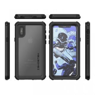 【iPhone Xケース】IP68防水防塵タフネスケース ノーティカル ブラック iPhone X【10月下旬】_1