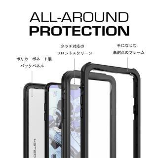 【iPhone Xケース】IP68防水防塵タフネスケース ノーティカル ブラック iPhone X【10月下旬】_2