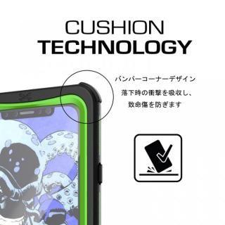 【iPhone Xケース】IP68防水防塵タフネスケース ノーティカル ブラック iPhone X【10月下旬】_4