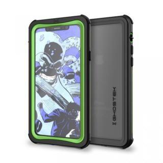 IP68防水防塵タフネスケース ノーティカル グリーン iPhone X【11月下旬】