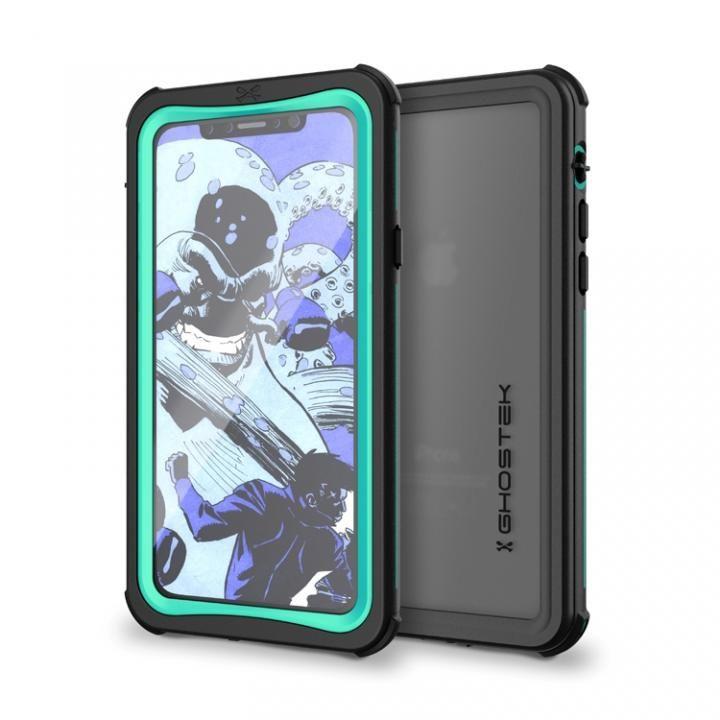 IP68防水防塵タフネスケース ノーティカル ティール iPhone X【7月下旬】