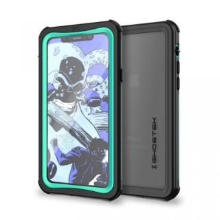 【iPhone X ケース】IP68防水防塵タフネスケース ノーティカル ティール iPhone X
