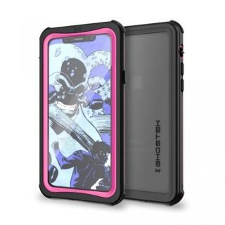 IP68防水防塵タフネスケース ノーティカル ピンク iPhone X【10月上旬】