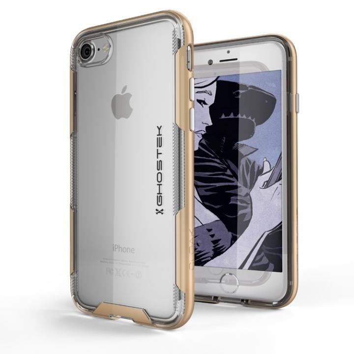 【iPhone8/7ケース】スタイリッシュなハイブリッドケース クローク3 ゴールド iPhone 8/7_0