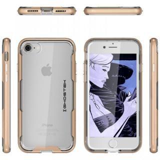 【iPhone8/7ケース】スタイリッシュなハイブリッドケース クローク3 ゴールド iPhone 8/7_2