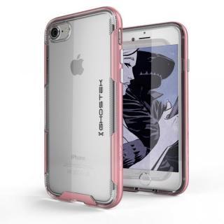 スタイリッシュなハイブリッドケース クローク3 ピンク iPhone 8/7【11月上旬】
