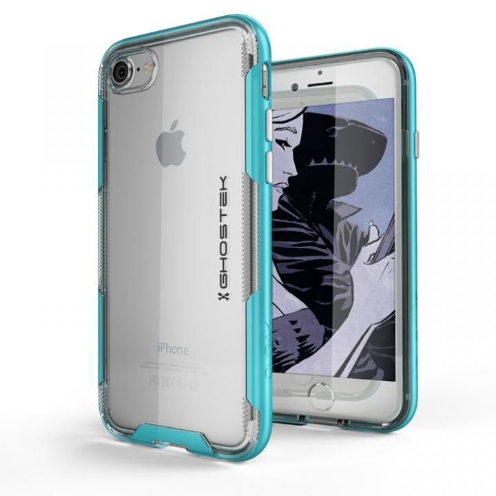 【iPhone8/7ケース】スタイリッシュなハイブリッドケース クローク3 ティール iPhone 8/7_0