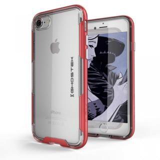 スタイリッシュなハイブリッドケース クローク3 レッド iPhone 8/7【10月下旬】