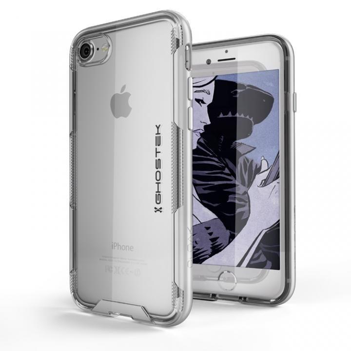 iPhone8/7 ケース スタイリッシュなハイブリッドケース クローク3 シルバー iPhone SE 第2世代/8/7_0