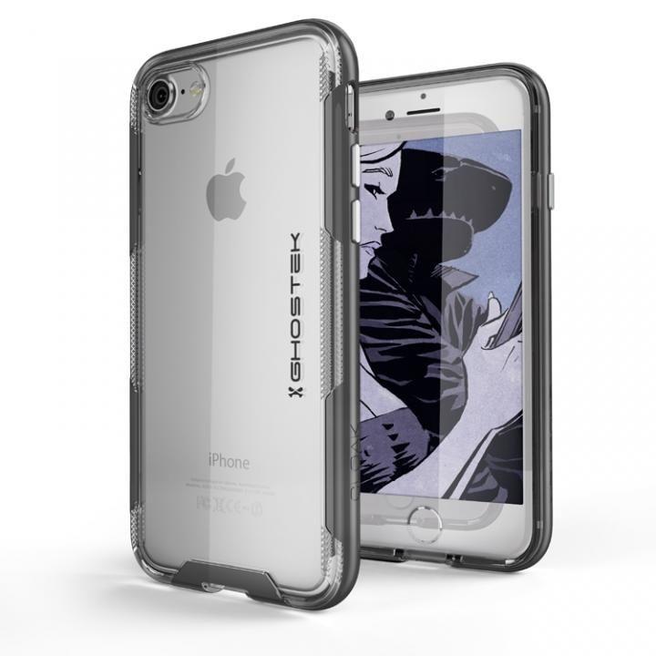 【iPhone8/7ケース】スタイリッシュなハイブリッドケース クローク3 ブラック iPhone 8/7_0