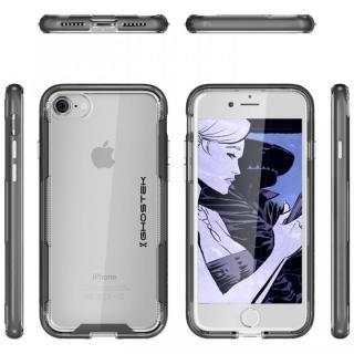 【iPhone8/7ケース】スタイリッシュなハイブリッドケース クローク3 ブラック iPhone 8/7_2