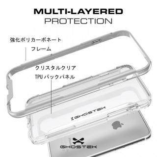 【iPhone8/7ケース】スタイリッシュなハイブリッドケース クローク3 ブラック iPhone 8/7_3