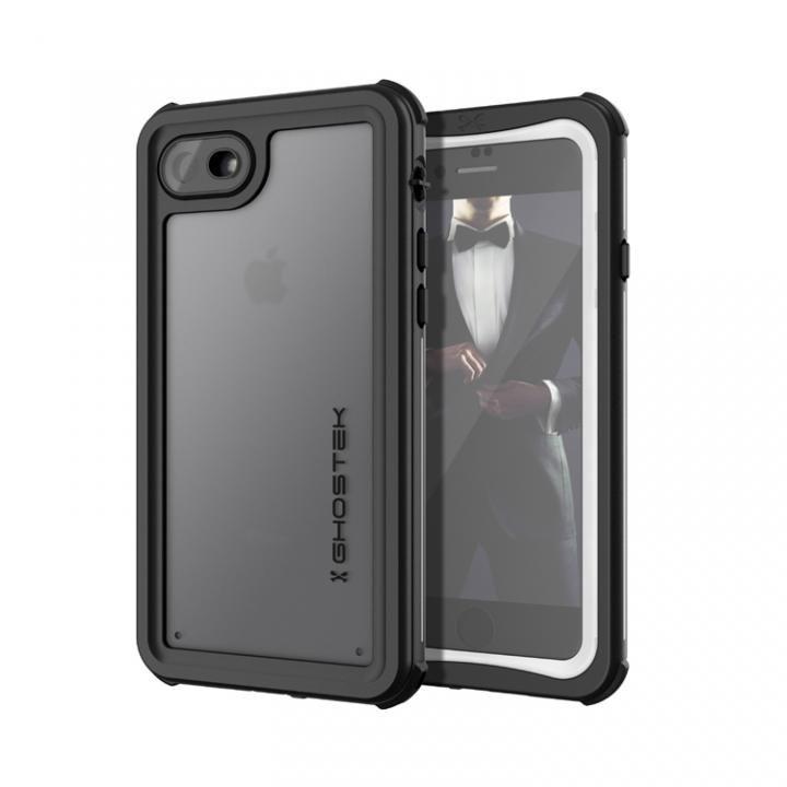 【iPhone8/7ケース】IP68防水防塵タフネスケース ノーティカル ホワイト iPhone 8/7_0