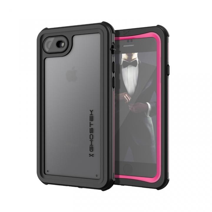 【iPhone8/7ケース】IP68防水防塵タフネスケース ノーティカル ピンク iPhone 8/7_0