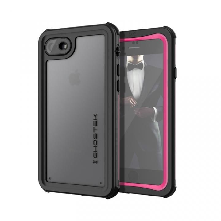 iPhone8/7 ケース IP68防水防塵タフネスケース ノーティカル ピンク iPhone SE 第2世代/8/7_0