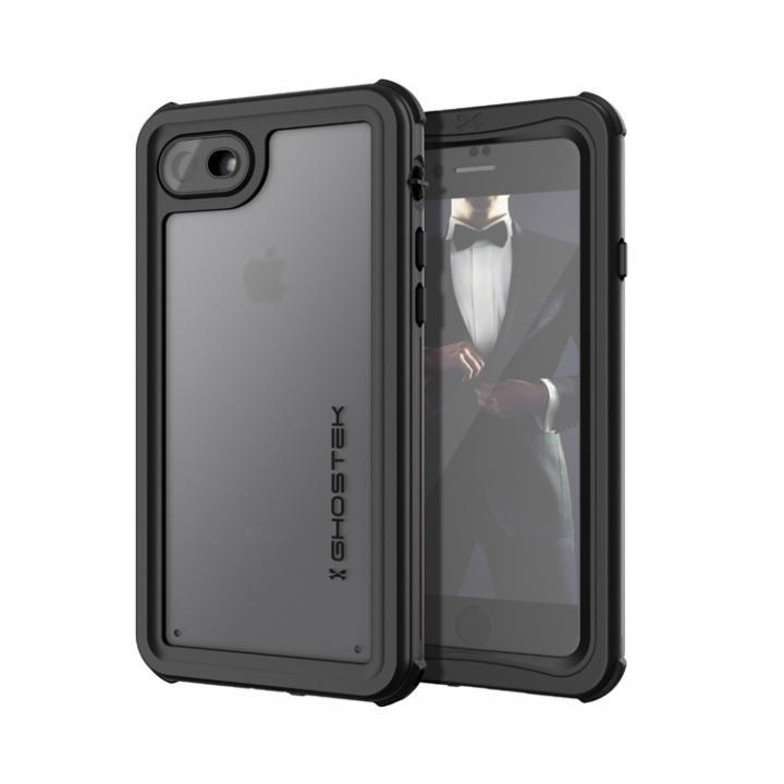 【iPhone8/7ケース】IP68防水防塵タフネスケース ノーティカル ブラック iPhone 8/7_0