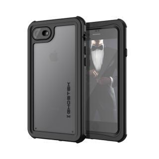 【iPhone8 ケース】IP68防水防塵タフネスケース ノーティカル ブラック iPhone 8/7