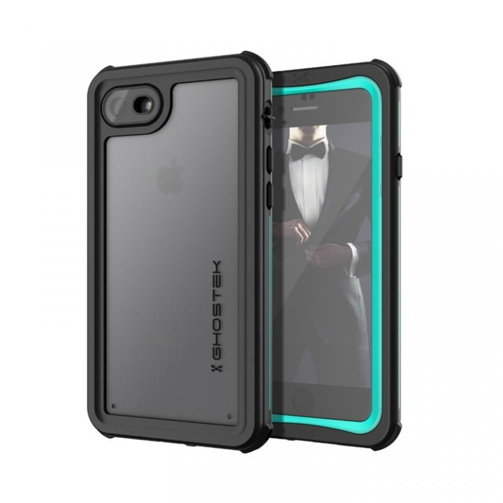 iPhone8/7 ケース IP68防水防塵タフネスケース ノーティカル ティール iPhone SE 第2世代/8/7_0