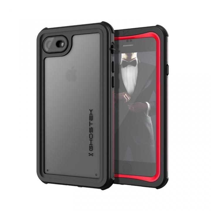 iPhone8/7 ケース IP68防水防塵タフネスケース ノーティカル レッド iPhone SE 第2世代/8/7_0