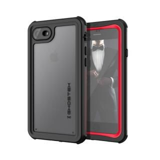 【iPhone7 ケース】IP68防水防塵タフネスケース ノーティカル レッド iPhone 8/7【8月下旬】