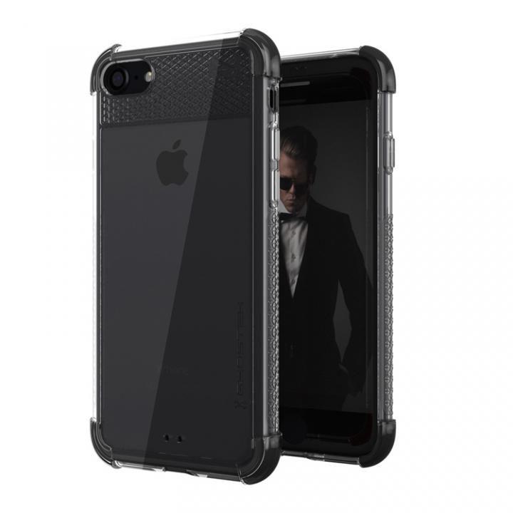 iPhone8/7 ケース シンプルなクリアタフケース コバート2 ブラック iPhone 8/7_0