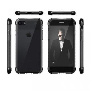 【iPhone8/7ケース】シンプルなクリアタフケース コバート2 ブラック iPhone 8/7_1