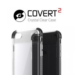 【iPhone8/7ケース】シンプルなクリアタフケース コバート2 ブラック iPhone 8/7_2