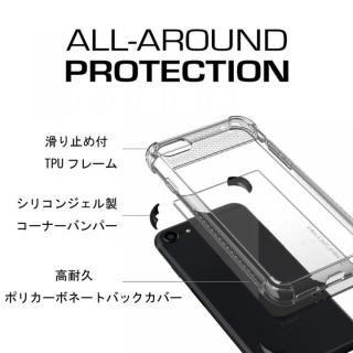 【iPhone8/7ケース】シンプルなクリアタフケース コバート2 ブラック iPhone 8/7_4