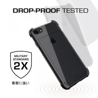 【iPhone8/7ケース】シンプルなクリアタフケース コバート2 ブラック iPhone 8/7_5
