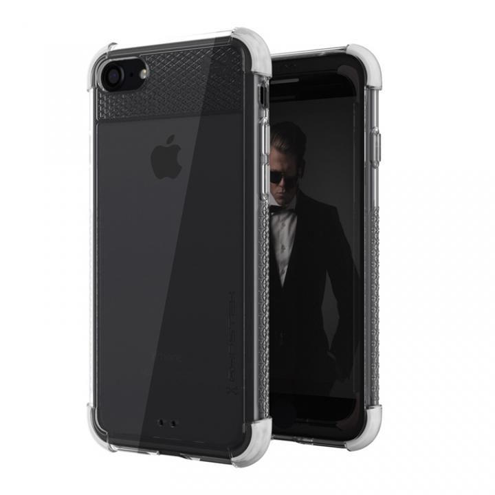 【iPhone8/7ケース】シンプルなクリアタフケース コバート2 ホワイト iPhone 8/7_0