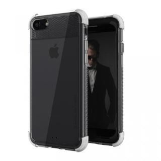 iPhone8/7 ケース シンプルなクリアタフケース コバート2 ホワイト iPhone 8/7