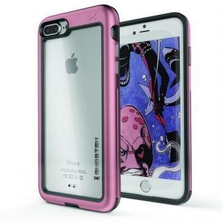 アルミ合金製スリムケース アトミックスリム ピンク iPhone 8 Plus【10月上旬】