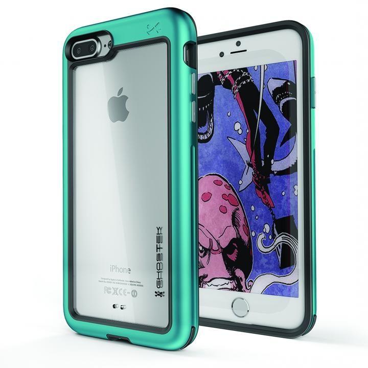 アルミ合金製スリムケース アトミックスリム ティール iPhone 8 Plus/7 Plus
