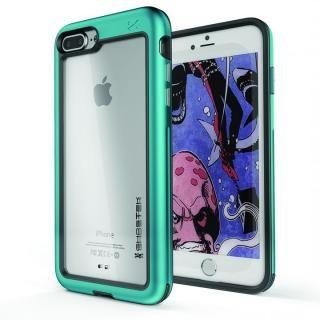 【iPhone8 Plus/7 Plusケース】アルミ合金製スリムケース アトミックスリム ティール iPhone 8 Plus/7 Plus