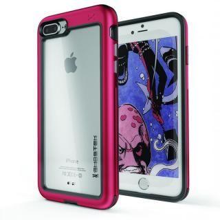 iPhone8 Plus/7 Plus ケース アルミ合金製スリムケース アトミックスリム レッド iPhone 8 Plus/7 Plus