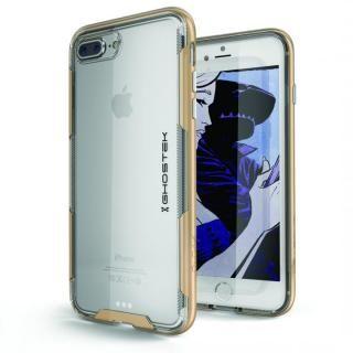 【iPhone8 Plus/7 Plusケース】スタイリッシュなハイブリッドケース クローク3 ゴールド iPhone 8 Plus/7 Plus