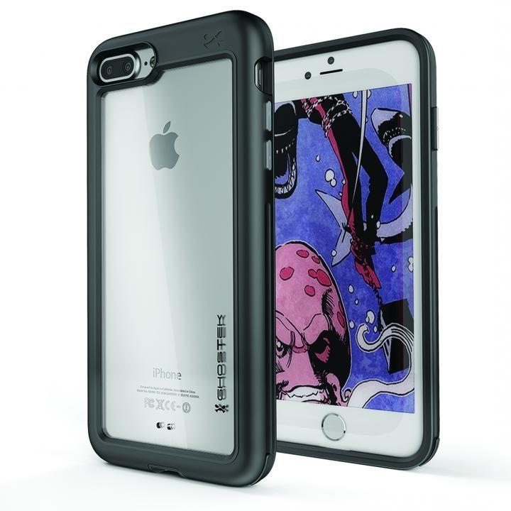 iPhone8 Plus/7 Plus ケース アルミ合金製スリムケース アトミックスリム ブラック iPhone 8 Plus/7 Plus_0