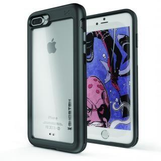 アルミ合金製スリムケース アトミックスリム ブラック iPhone 8 Plus【10月上旬】