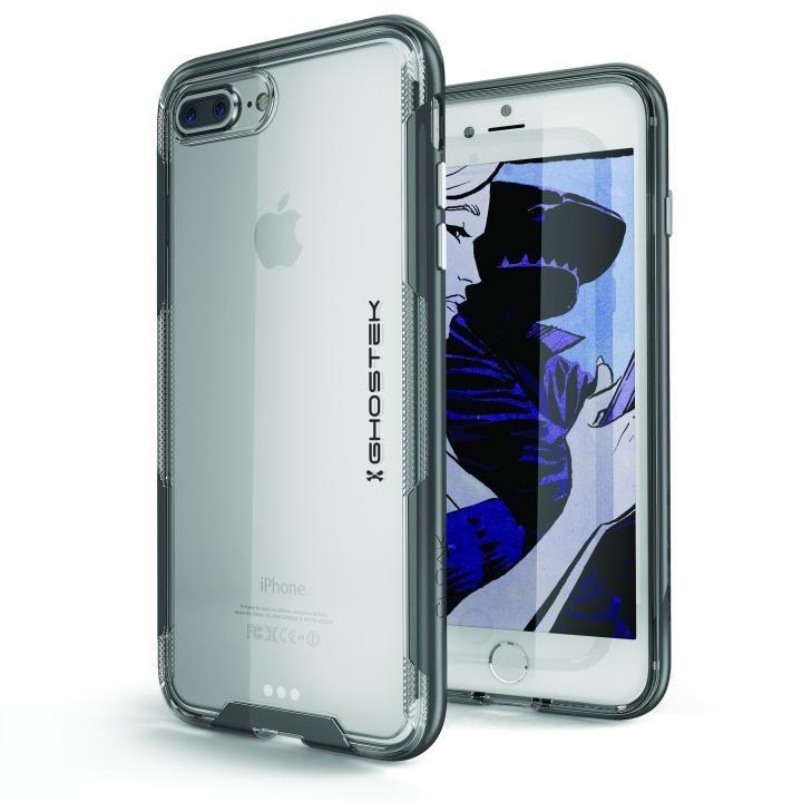 スタイリッシュなハイブリッドケース クローク3 ブラック iPhone 8 Plus/7 Plus