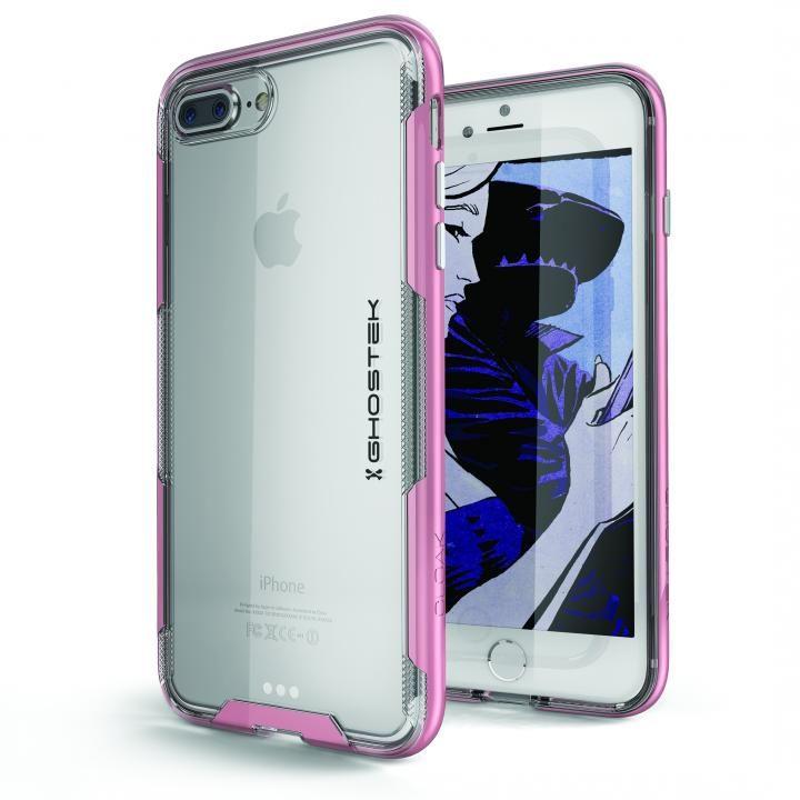 iPhone8 Plus/7 Plus ケース スタイリッシュなハイブリッドケース クローク3 ピンク iPhone 8 Plus/7 Plus_0