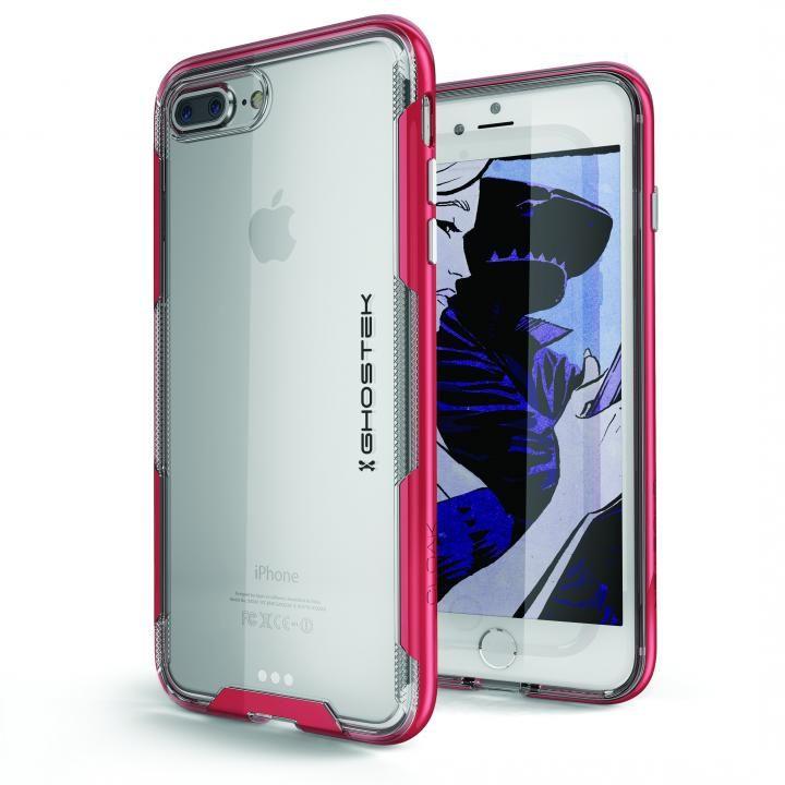 iPhone8 Plus/7 Plus ケース スタイリッシュなハイブリッドケース クローク3 レッド iPhone 8 Plus/7 Plus_0