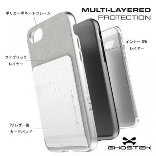 【iPhone8 Plus/7 Plusケース】カードクリップ付タフケース エグゼク2 ブラウン iPhone 8 Plus/7 Plus_4